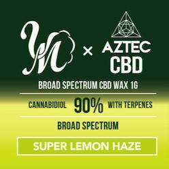 AZTEC & VapeMania CBDワックス 和み -Nagomi- ブロードスペクトラム 濃度90%/900mg |高濃度 Broadspectrum CBD WAX Wネーム