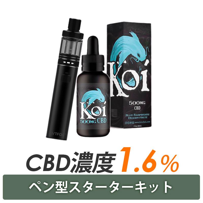 Koi CBD 500MG(30ml) & JUSTFOG Fog1