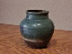 古武雄緑釉壺