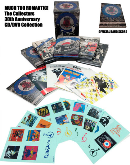 MUCH TOO ROMANTIC!~The Collectors 30th Anniversary CD/DVD Collection【CD+DVD BOX-スコアブック付】