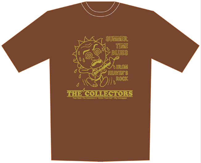 """""""SUMMER TIME BLUES FROM HEAVEN'S ROCK"""" Tシャツ"""