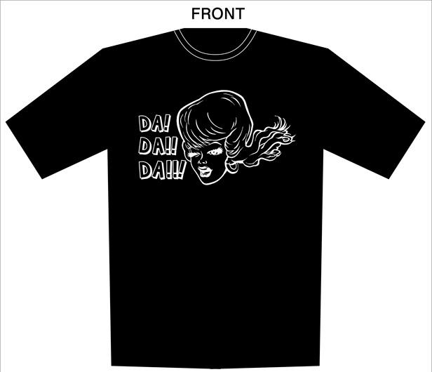 "TOUR 2014 ""DA! DA!! DA!!!""オフィシャルTシャツ"