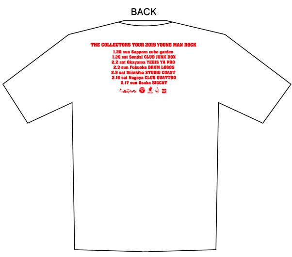 ツアー「ヤングマンロック」オフィシャルTシャツ