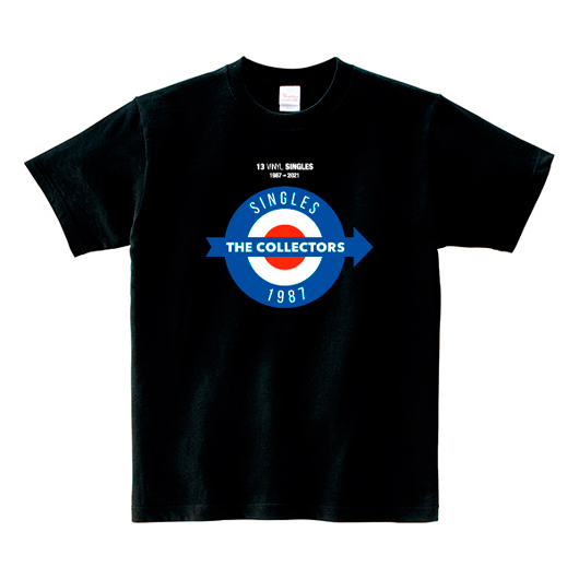 「13 VINYL SINGLES」ロゴTシャツ