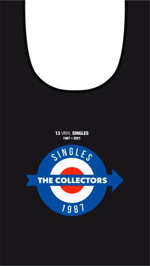 「13 VINYL SINGLES」コットン・エコバッグ