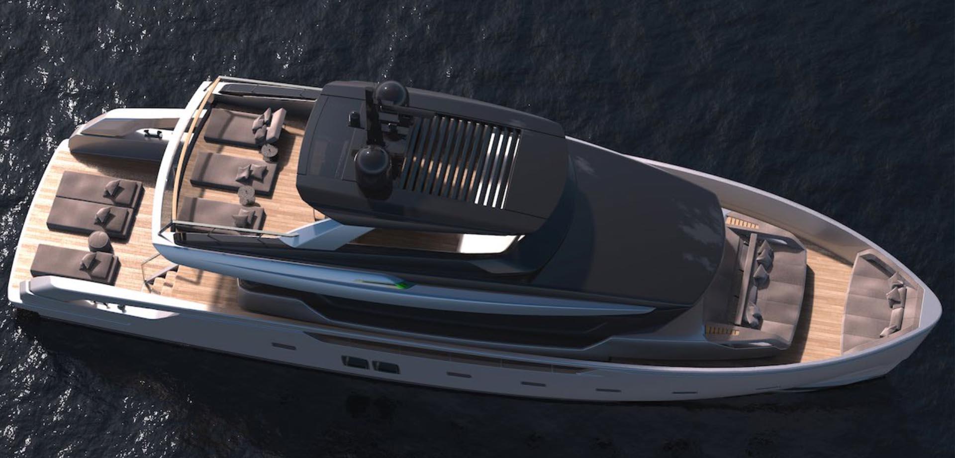 2018'SANLORENZOーSX76(輸入艇)