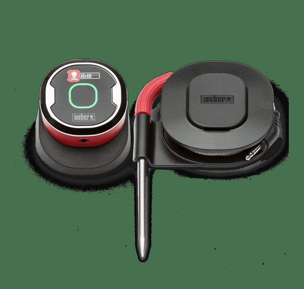 バーベキュー コンロ 用 スマートデバイス iGrill Mini 7206 温度計 ウェーバー 本格 簡単 完璧 キャンプ飯 ソロ 【2年保証/送料無料】