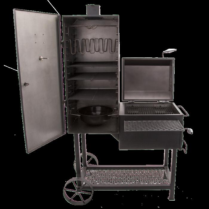 【OKLAHOMA JOE'S(オクラホマジョーズ)】バンデラバーティカルオフセットスモーカー 燻製 スモーク BBQ 本格