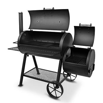 【OKLAHOMA JOE'S(オクラホマジョーズ)】ハイランドオフセットスモーカー 燻製 スモーク BBQ 本格