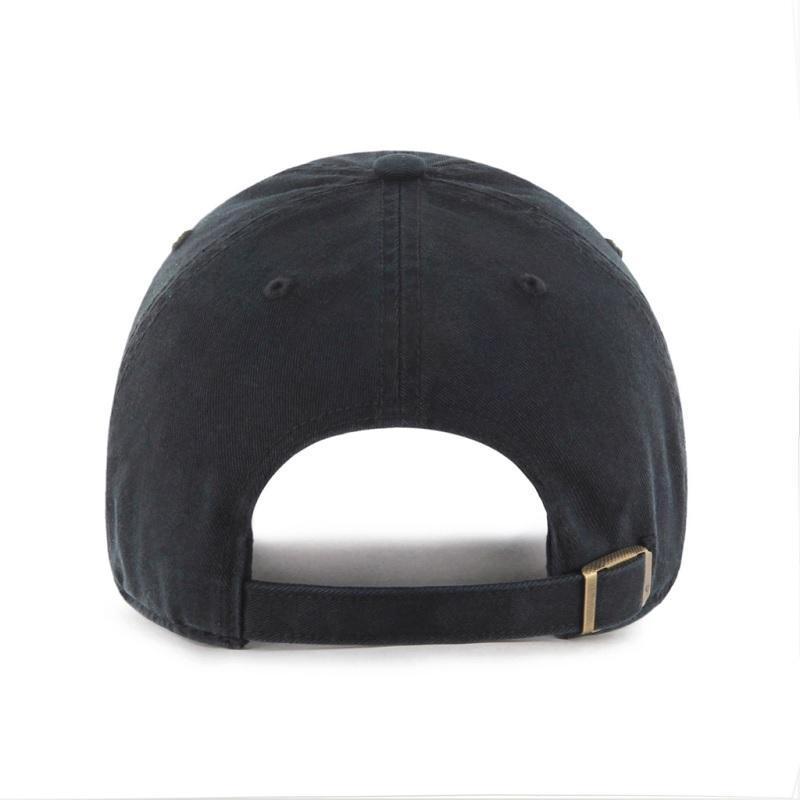 ドジャース 定番キャップ ブラックトーナル '47 クリーンナップ ブラック