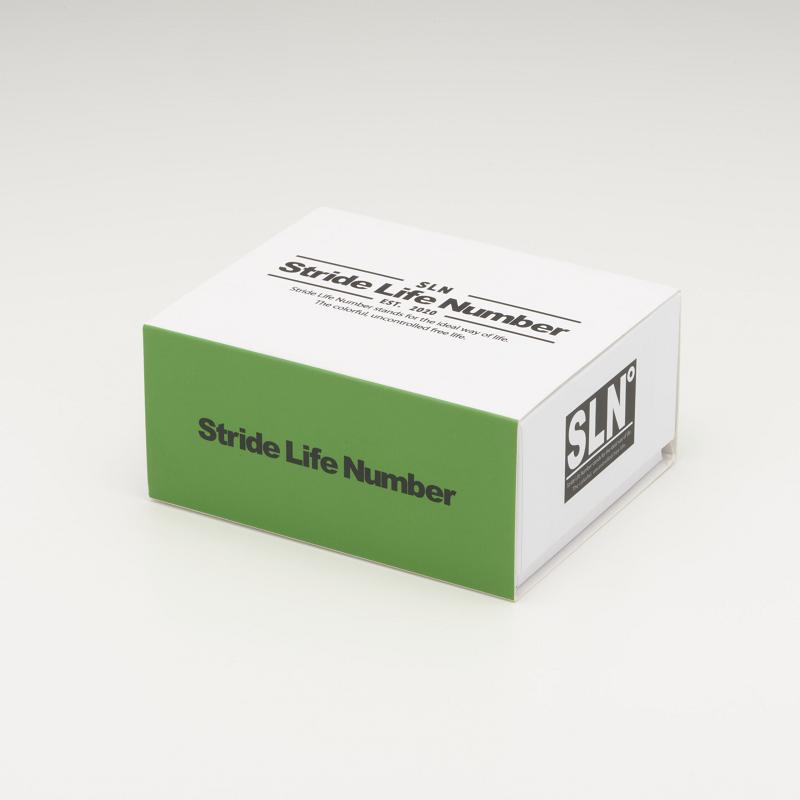 Stride Life Number [Green] 折りたたみ サングラス