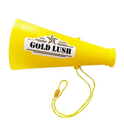 GOLD LUSH 2020 SEASON 応援メガホン
