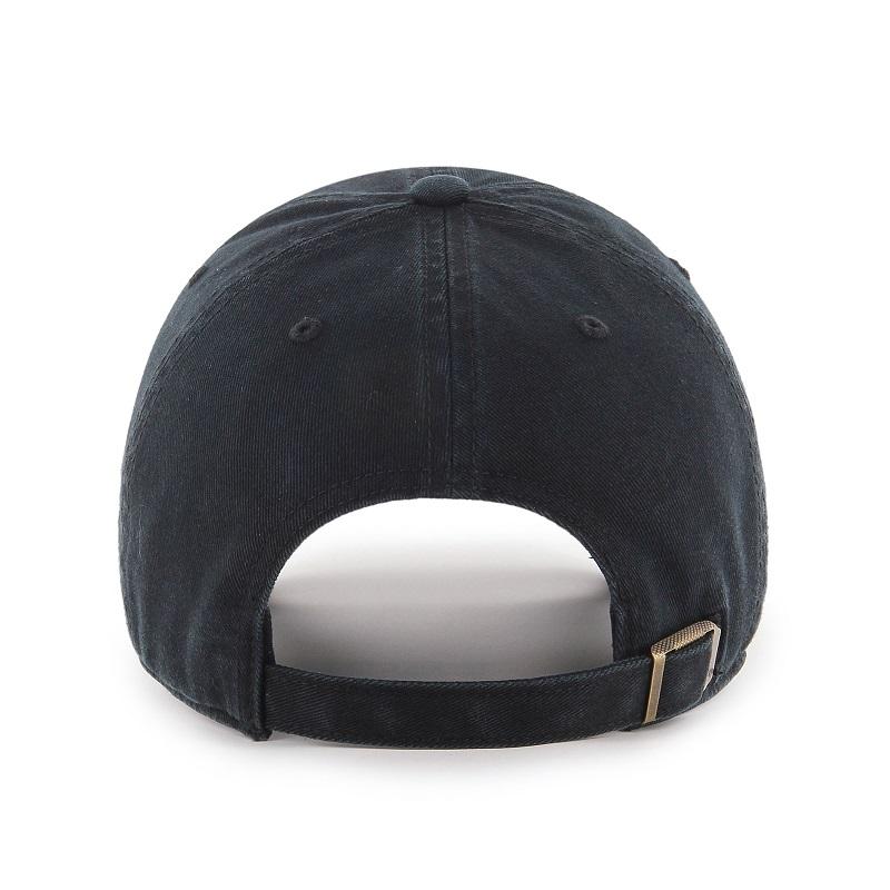 ロッキーズ キャップ '47 クリーンナップ ブラック (ブラック×パープルロゴ)