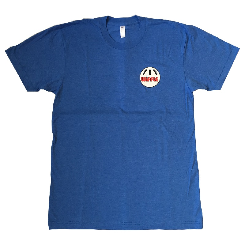 ウィッフルボール ロゴ入り Tシャツ スクリューボール ブルー WIFFLE Ball