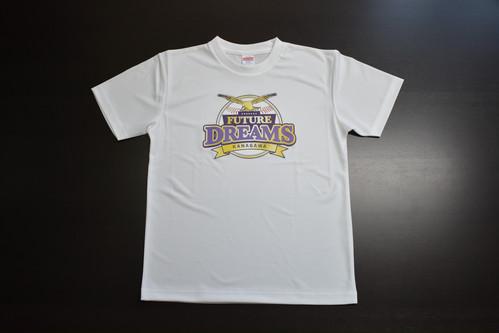 神奈川フューチャードリームス ロゴTシャツ(ホワイト)