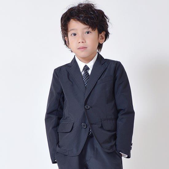 40%OFFセール generatorジェネレータースーツ 子供服 2B速乾素材C/Nスーツ(3点セット)ブラック 110cm-160cm 入学式卒業式スーツ男の子