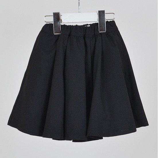 30%OFFセール generator ジェネレータースーツ 子供服 ワンボタンガールズジャケット用フレアスカート(BK)150cm/160cm 入学式 女の子