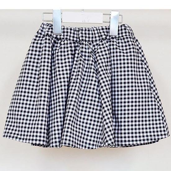 30%OFFセール ジェネレーター 子供服 generator ギンガムチェックフレアスカート 150cm/160cm フォーマル 卒業式 女の子