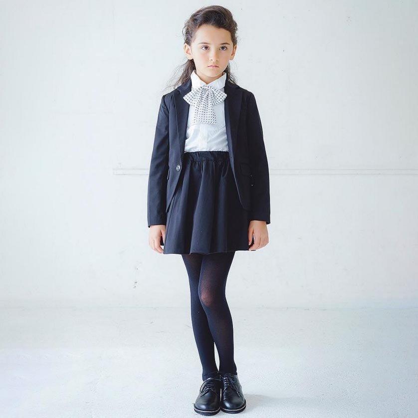 30%OFFセール generator ジェネレーター スーツ フレアスカート(ブラック)(150cm/160cm) 子供服 (698201)子供服 卒業式 スーツ 女の子 ジェネレーター
