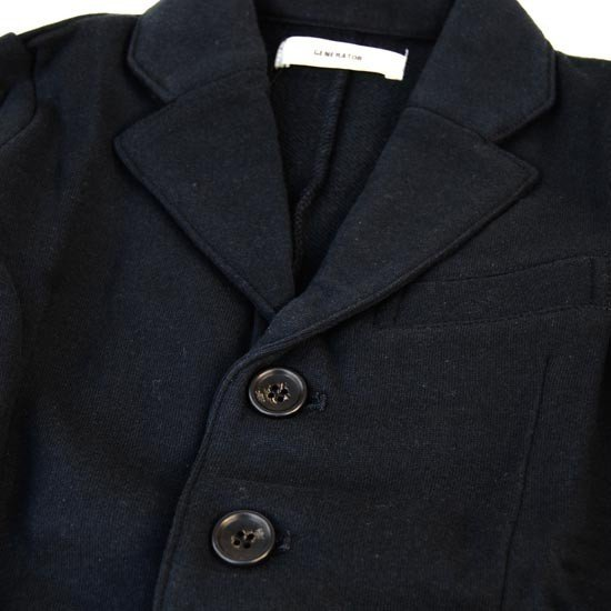 35%OFFセール generator ジェネレーター 子供服 チェスターフィールドコート(ブラック)150cm/160cm