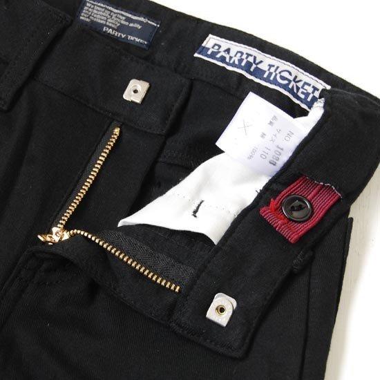 35%OFFセール 日本製 パーティーチケット 子供服 フォーマル カットソーテーラードジャケット スーツ(ブラック)上下セット 140cm 150cm 卒業式 男の子