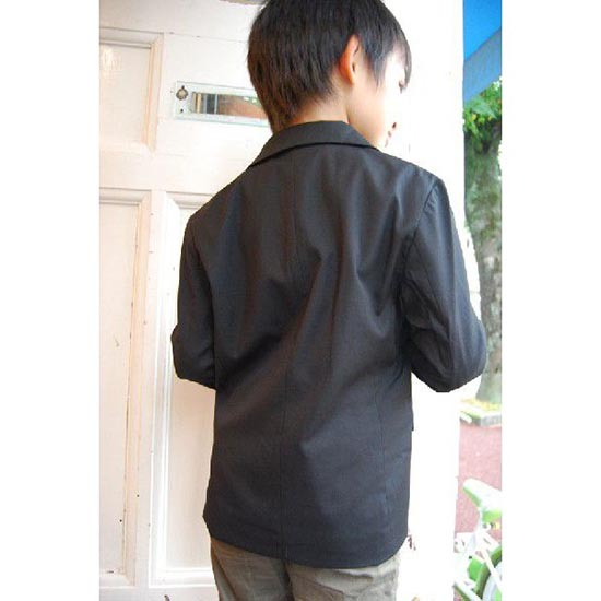 30%OFFセール ジェネレーター スーツ 子供服 ドレステーラードジャケット 黒 (110cm/120cm/130cm)