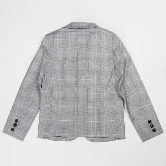 30%OFFセール ジェネレーター スーツ 子供服 グレンチェックテーラードジャケット(110cm/120cm/130cm)