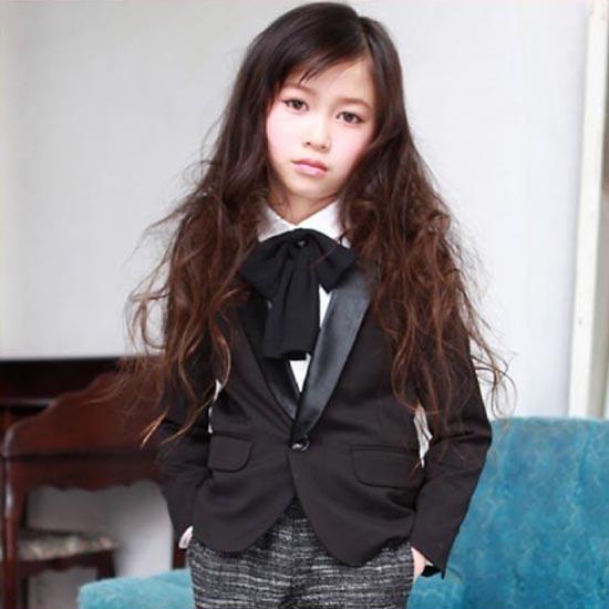 30%OFFセール ジェネレーター スーツ 子供服 ガールズ1Bテーラードジャケット110cm/120cm/130cm入学式 女の子