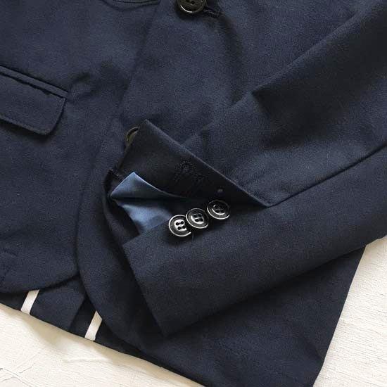EAST END HIGHLANDERS子供服 イーストエンドハイランダーズ  テーラードジャケットスーツ(上下組)(濃紺) 100cm/110cm/120cm (日本製)入学式 男の子