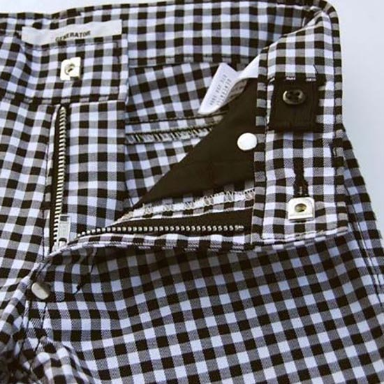 25%OFFセール GENERATOR ジェネレータースーツ 子供服 ギンガムパンツ 100cm/110cm/120cm/130cm140cm