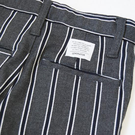 30%OFFセール ジェネレータースーツ 子供服 レジメンストライプテーラードジャケットスーツ上下2点セット(ジャケット/パンツ)(110cm-140cm) (062101/062201) 入学式 男の子スーツ 入学式 子供服 ジェネレーター フォーマルスーツ