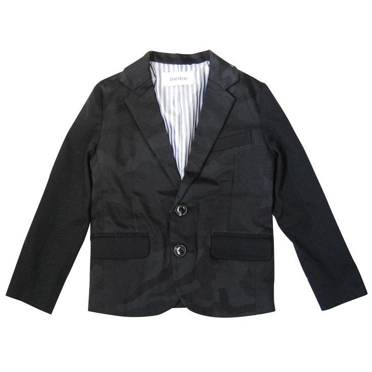 30%OFFセール generator ジェネレータースーツ  カモフラ2Bテーラードジャケット(150cm/160cm) 子供服 卒業式(064103)ジェネレーター  子供服 卒業式