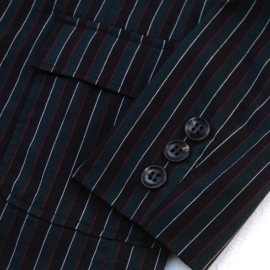 35%OFFセール ジェネレータースーツ 上下セット 子供服 レジメンタル薄手テーラードジャケットスーツ上下2点セット(ジャケット/パンツ)(110cm-130cm) (042112/042206) 入学式 男の子スーツ 入学式 子供服 ジェネレーター フォーマルスーツ