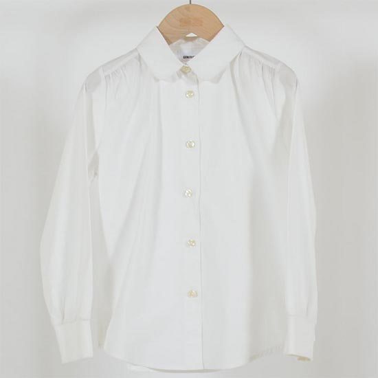 ジェネレーター スーツ ガールズドレスシャツ(110cm-160cm)(返品・交換不可商品)子供服 入学式  卒業式 女の子 フォーマルシャツ (900305) generator  フォーマル 女の子 シャツ ブラウス