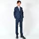 50%OFFセール generatorジェネレータースーツ 子供服 ツイルストレッチスーツ(上下セット)(NV) 110cm-160cm(900301NV) フォーマル 入学式 卒業式 スーツ 男の子 セール