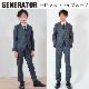 40%OFF generatorジェネレータースーツ 子供服 2Bピンストライプスーツ(上下)(GYグレー) 110cm-160cm (900302GY)フォーマル入学式 卒業式 スーツ 男の子 七五