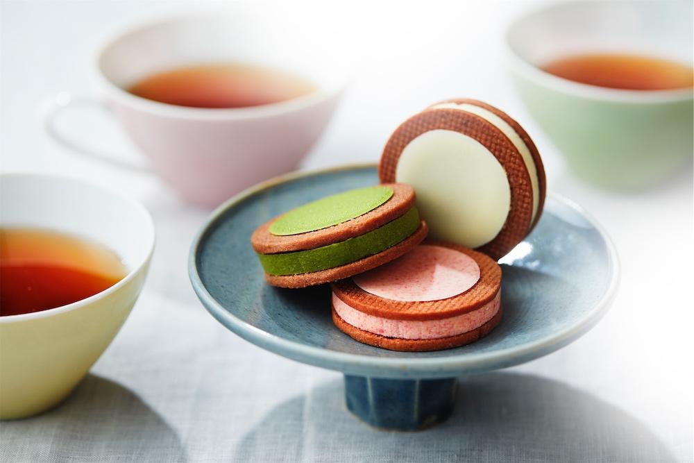 ルナサンドクッキー単品 [苺]