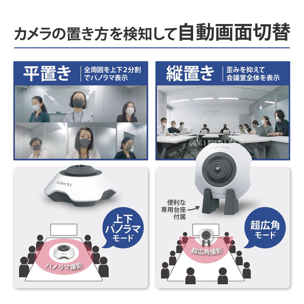 360°Web会議カメラ CX-MT100