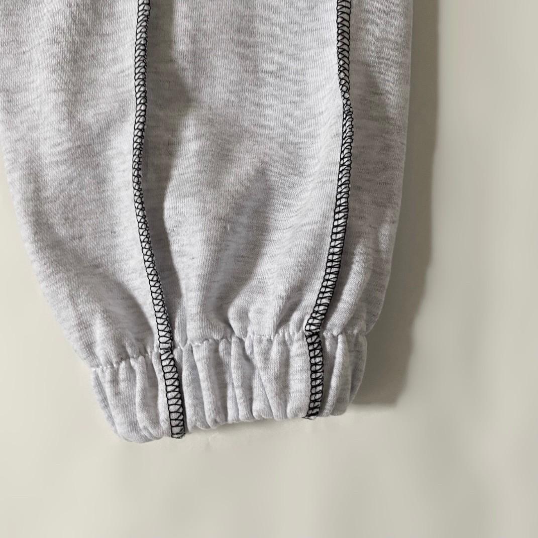 stitch work sweat pants