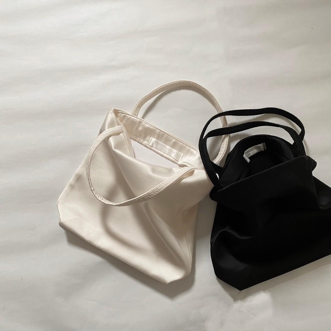 mini satin bag