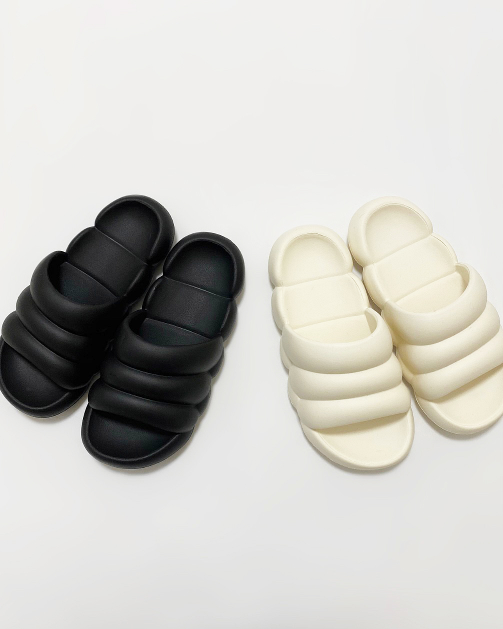 marshmallow sandal