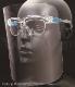 YF-800L くもり止め超軽量フェイスシールドグラス<顔全体を保護するタイプ>