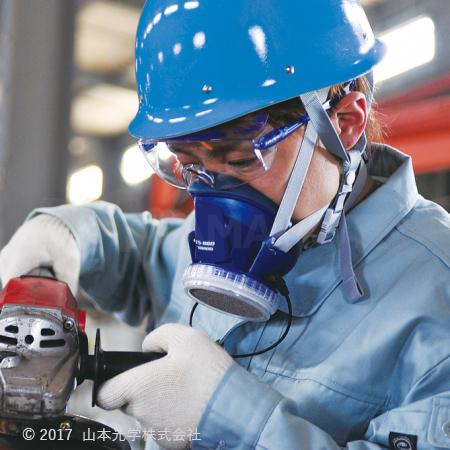 LS-880(RL2) 半面形防じんマスク(吸気補助具付き)
