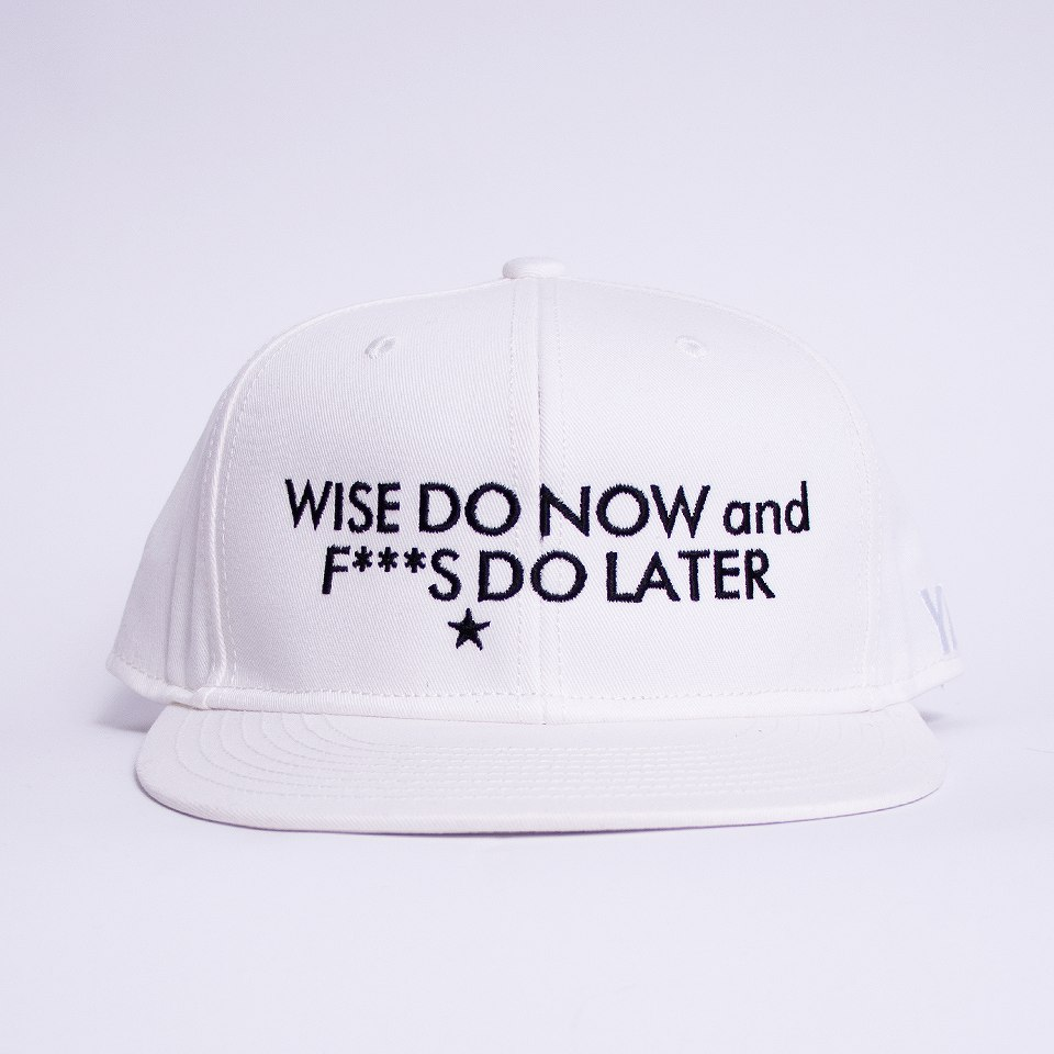 Message-SNAPBACK CAP