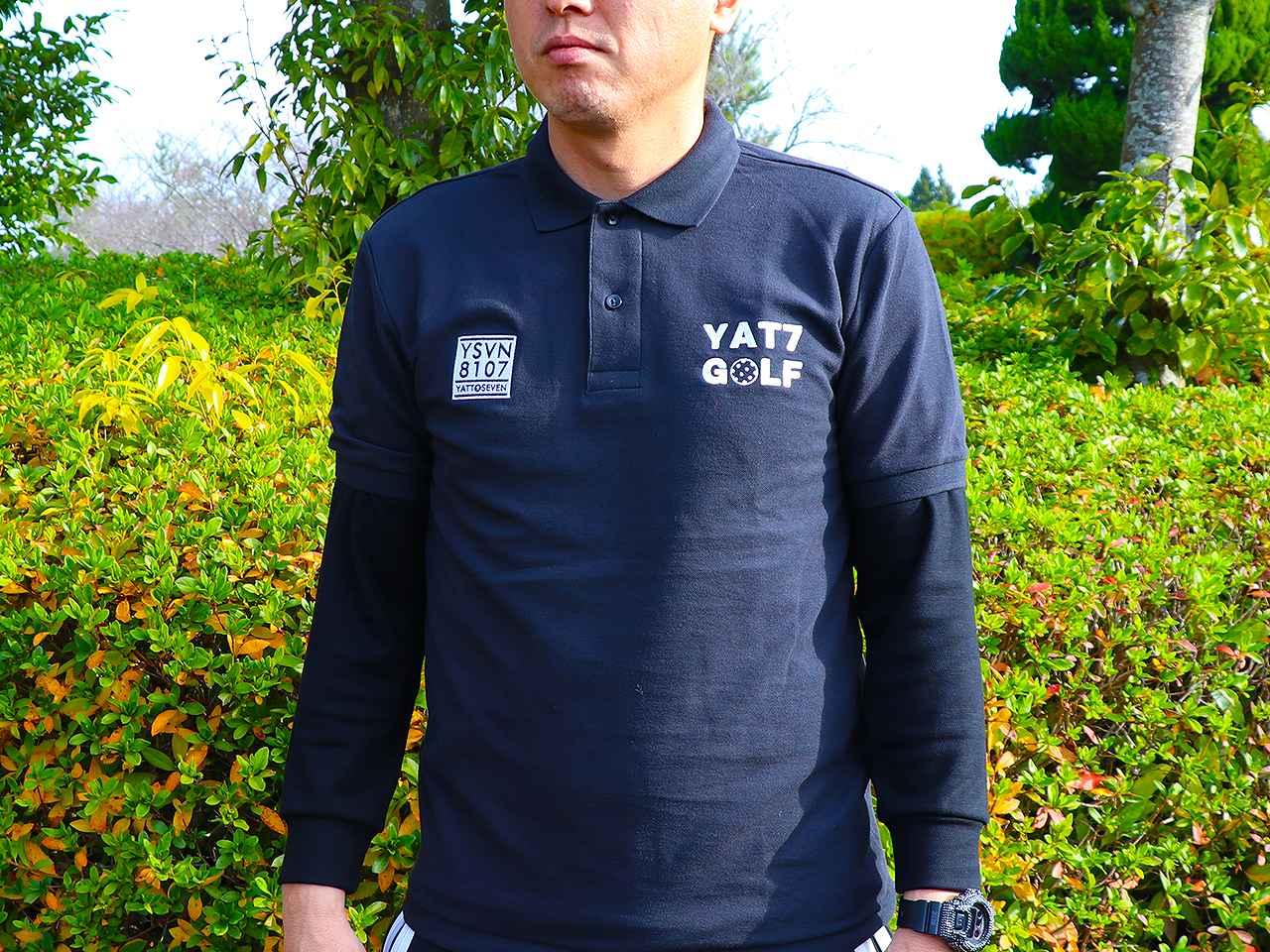 YAT7GOLFポロシャツ