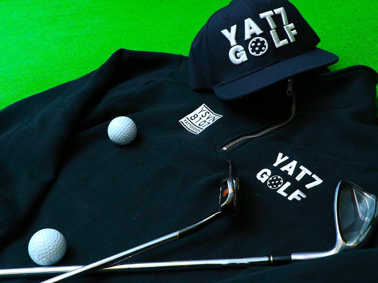 YAT7-ハーフジップジャケット