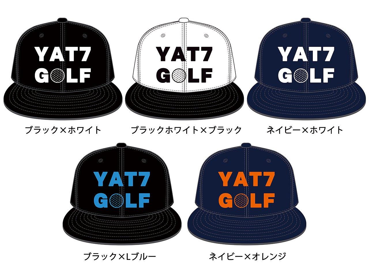 YAT7GOLF-SNAPBACK CAP