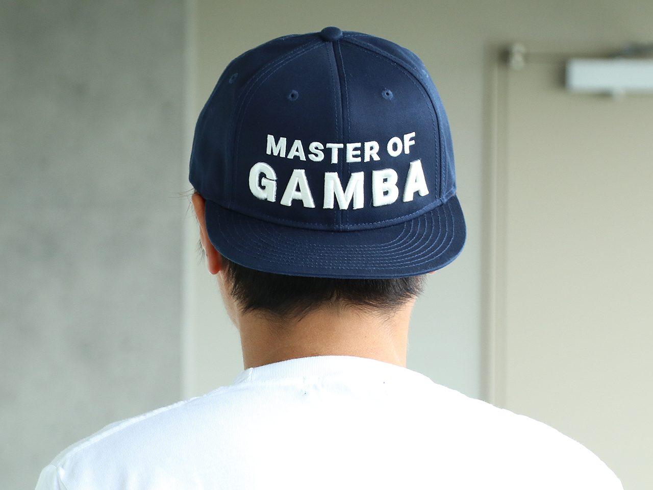 Master of GAMBA-SNAPBACK CAP