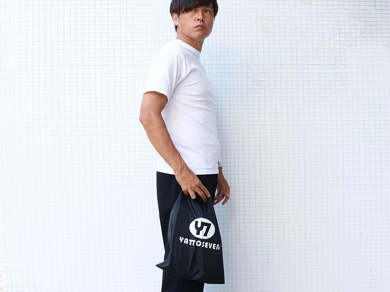 YATTO SEVEN ナイロンバッグ(巾着タイプ)