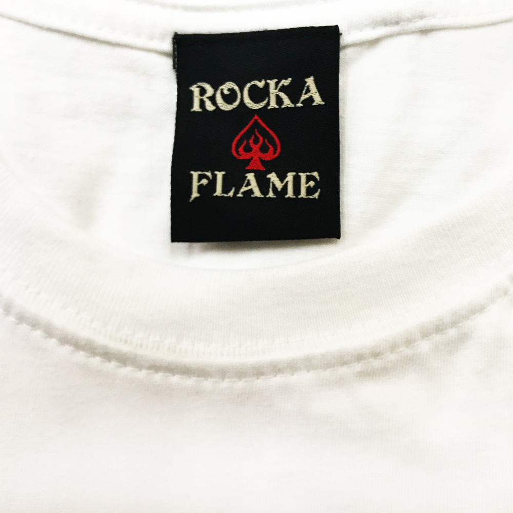 ROCKA FLAME【THE PEAK IS MIND DUDE】Tシャツ